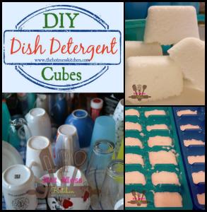 DIY Dishwasher Cubes