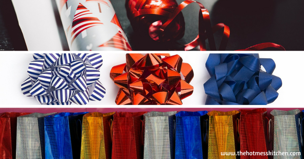 bags, bows and wrapping paper - christmas clearance