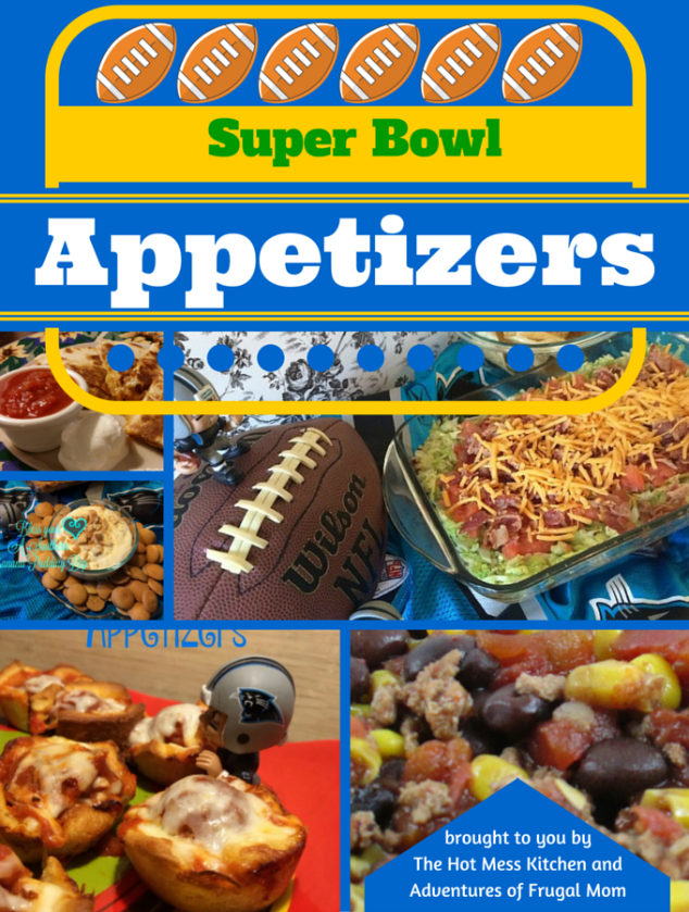 Super bowl appetizers the hot mess kitchen for Super bowl appetizers pinterest