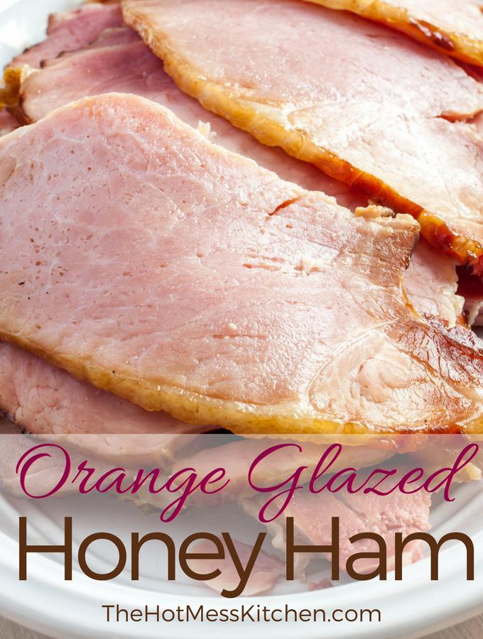 Orange Glazed Honey Ham