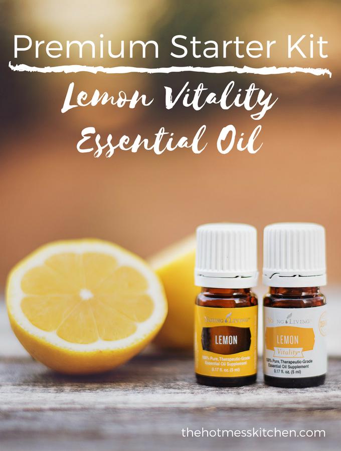 Premium Starter Kit: Lemon Vitality Essential Oil