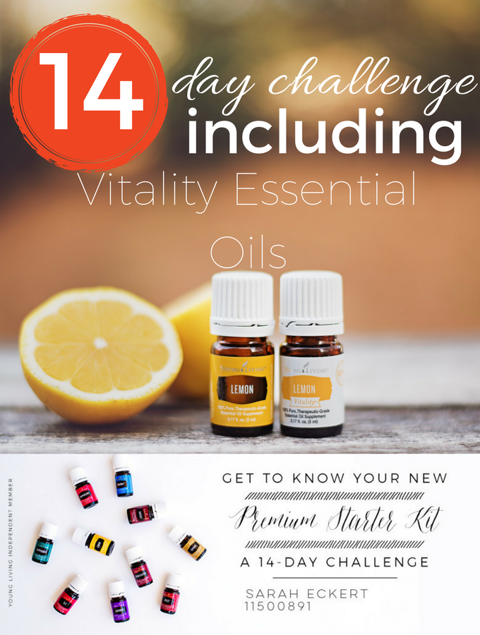 14 Day Challenge Including Vitality Essential Oils