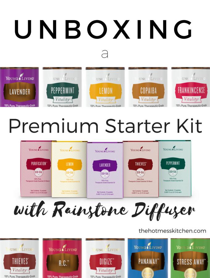 Unboxing the Premium Starter Kit